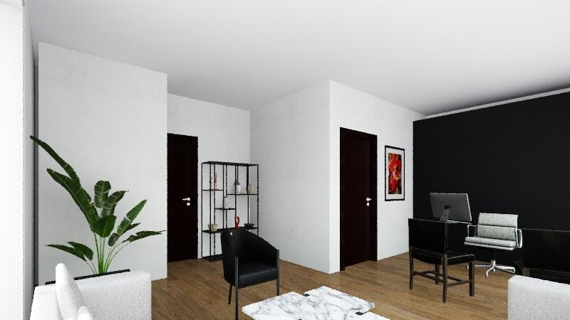 OFICINAS PARA DESPACHO DE CONTADORES: ARGA  Interior Design Render