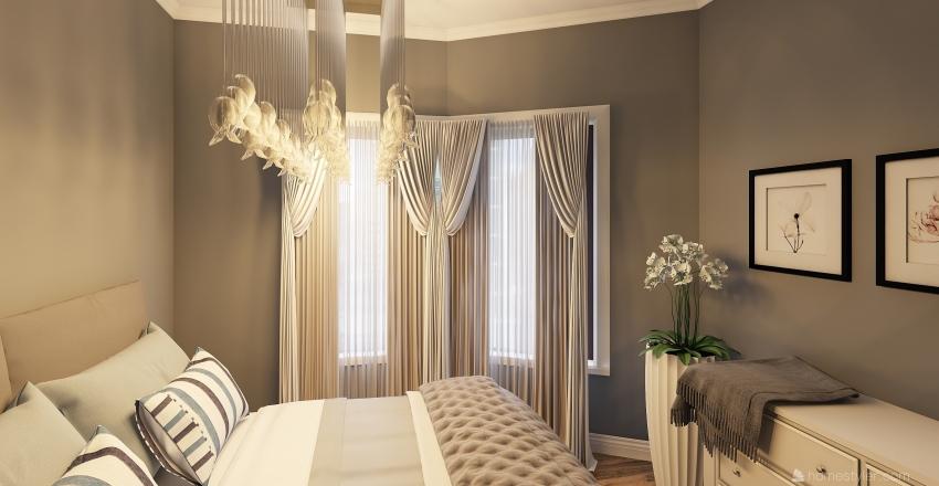 Mama House in Naples Interior Design Render