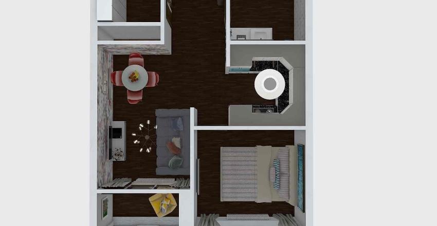 планировка 1 Эрнест Interior Design Render
