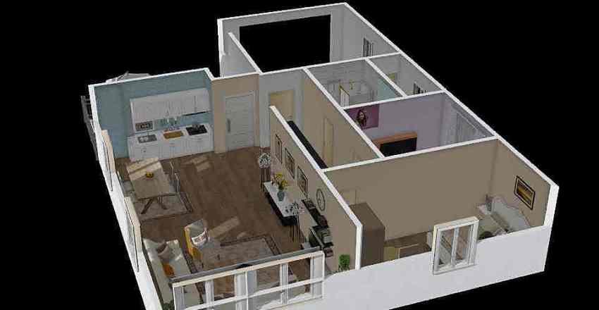 erna Interior Design Render