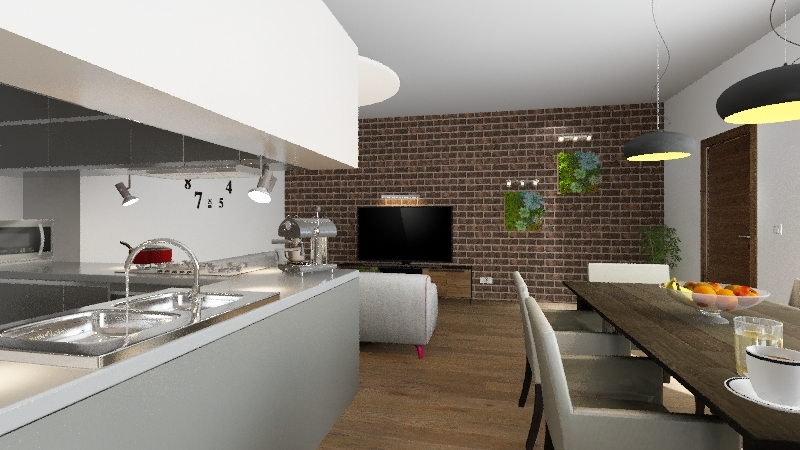 Penthouse_15.10.19 Interior Design Render