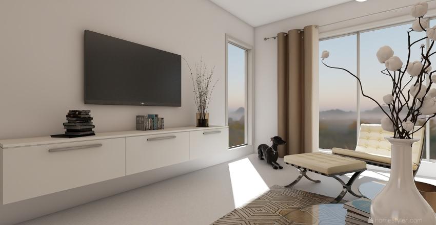 white sensation Interior Design Render
