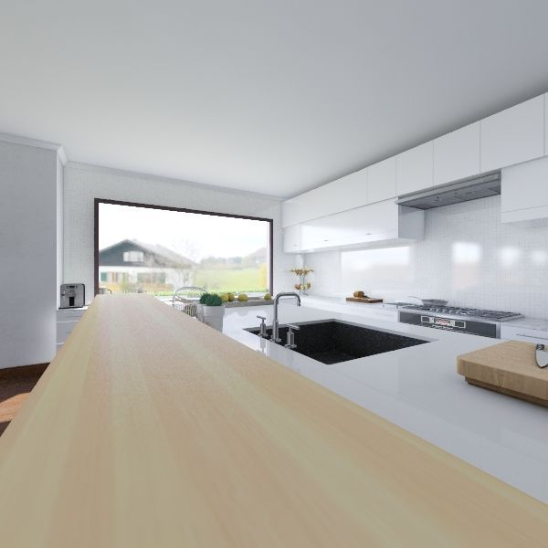 sister Interior Design Render