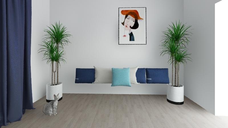 Nappali Julia 2019_v2 Interior Design Render
