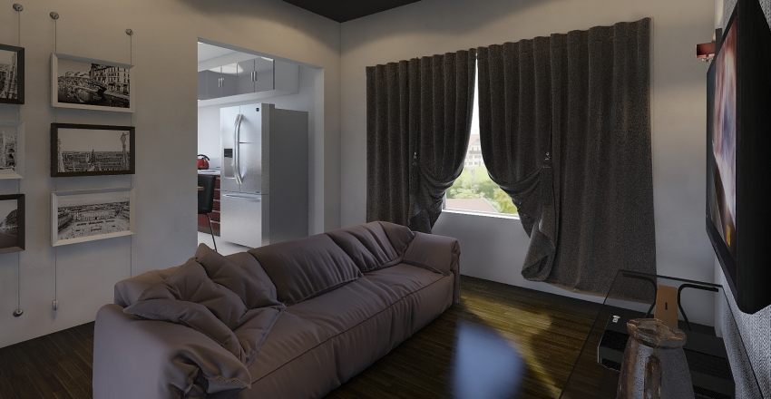 House 1 (Trial)  Interior Design Render