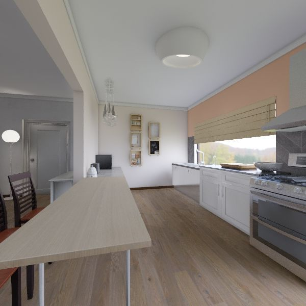 Tin Hut - Version 4.3 Interior Design Render