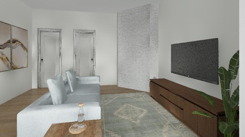 Casa da Gabi Interior Design Render