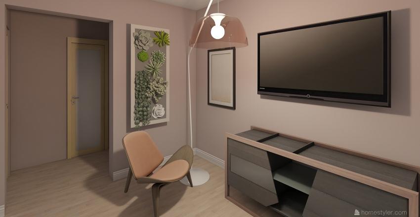 Back to vintage Interior Design Render