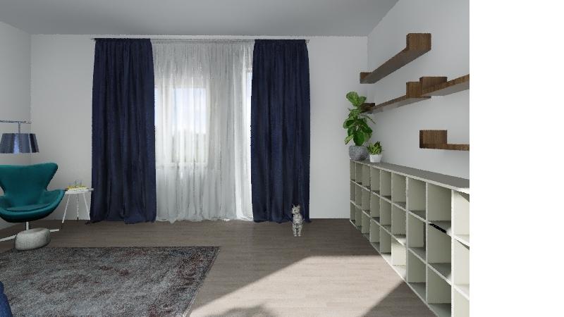 Nappali Julia 2019_v1 Interior Design Render
