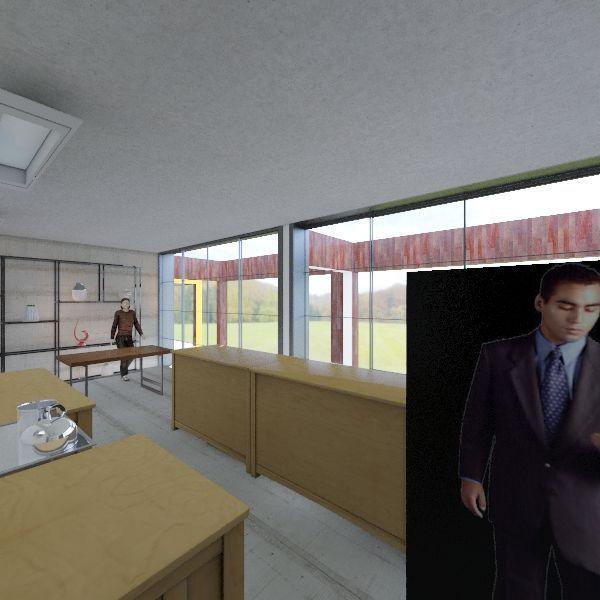 Corridor Interior Design Render