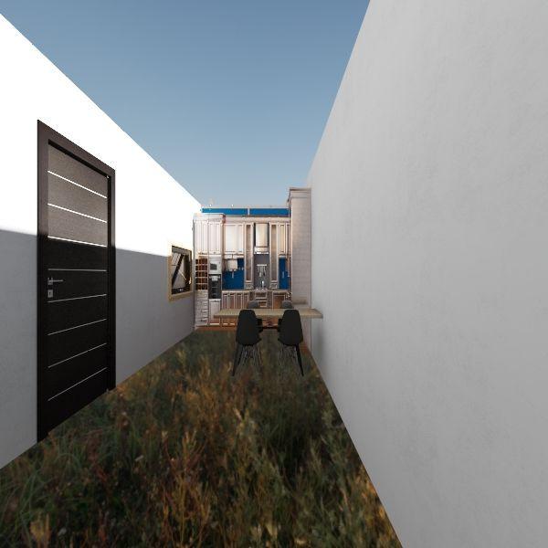 casa de paso container Interior Design Render