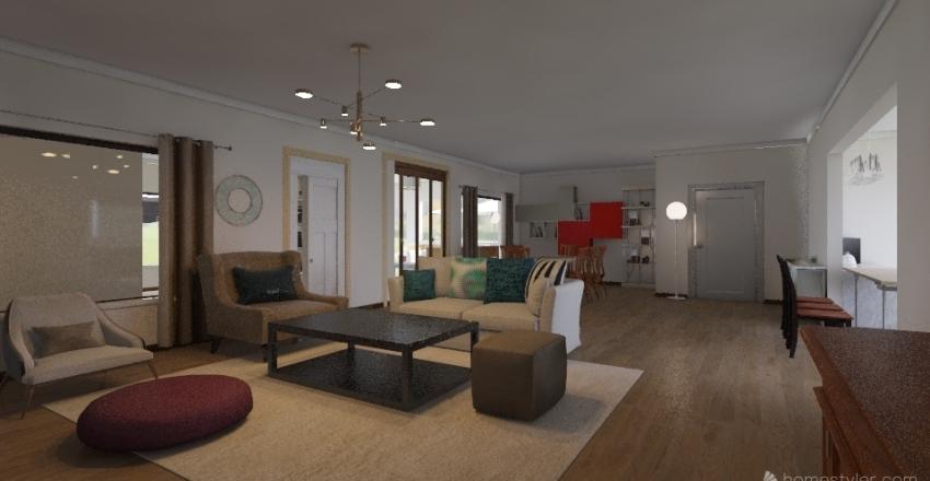 Tin Hut - Version 4.6 Interior Design Render