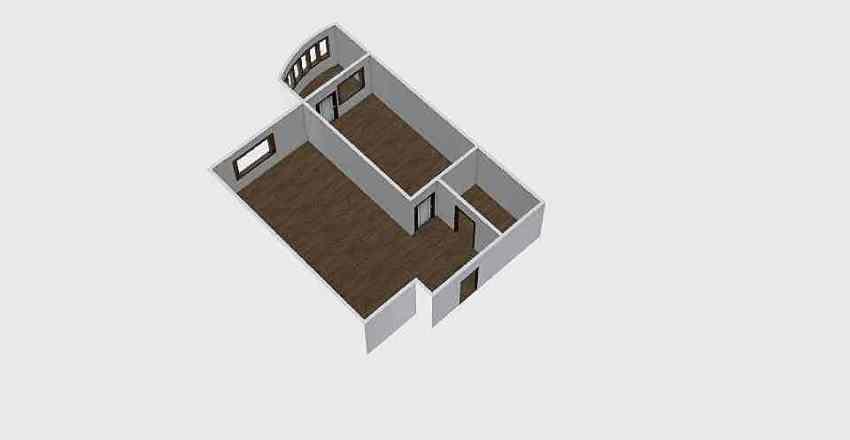 1-комн_0341 Interior Design Render