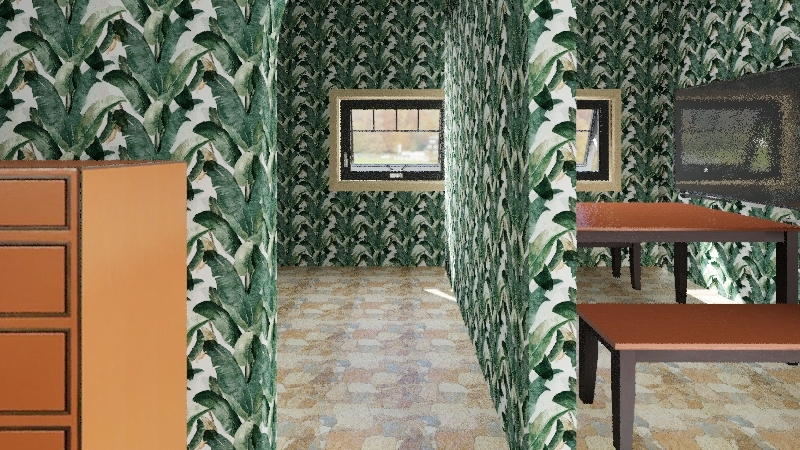 Poor People Apartment Interior Design Render
