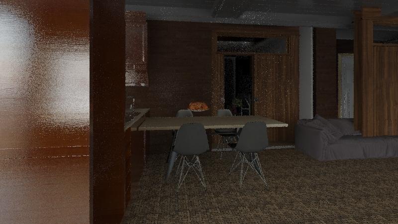Future house (2) Interior Design Render