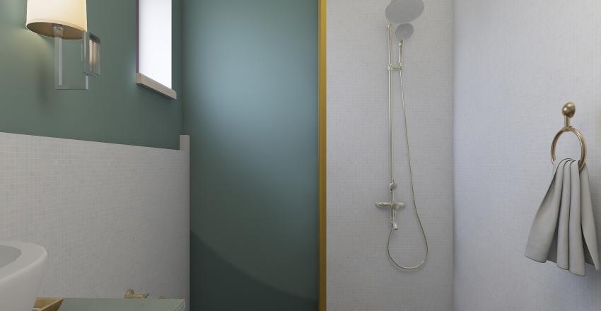 Small apartment in Serbia Interior Design Render