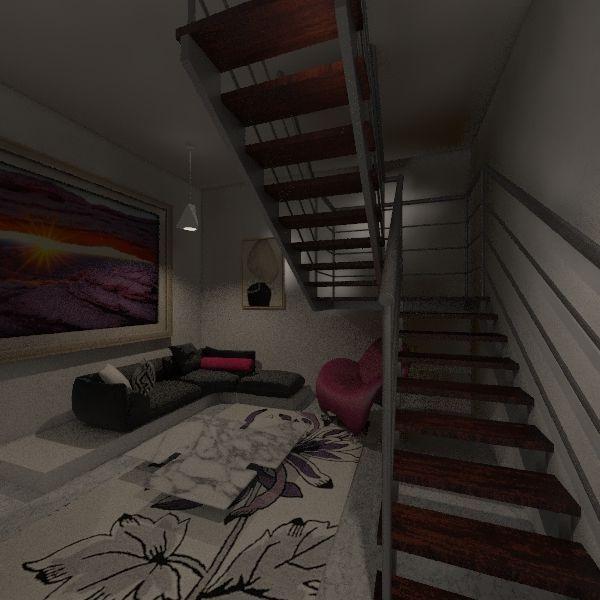 duplex room Interior Design Render
