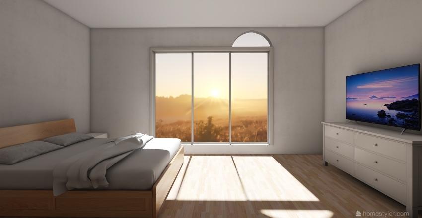 Ložnice - WoodS Interior Design Render