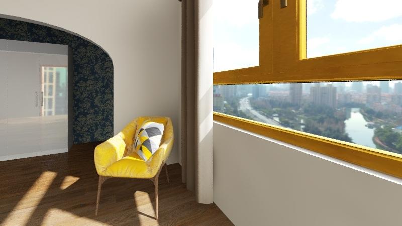 nire gela Interior Design Render