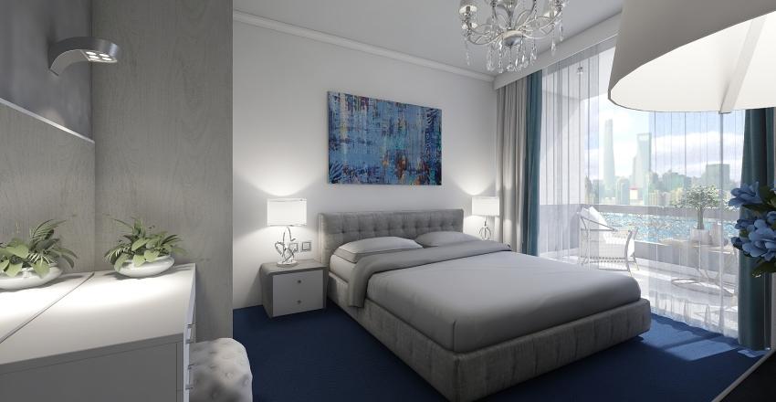 hotel's room Interior Design Render