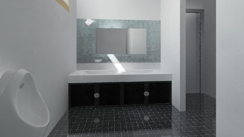 ห้องน้ำปั้ม Interior Design Render