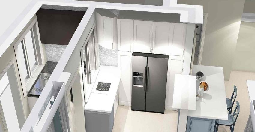 Avenham GF 2 kitchen Interior Design Render