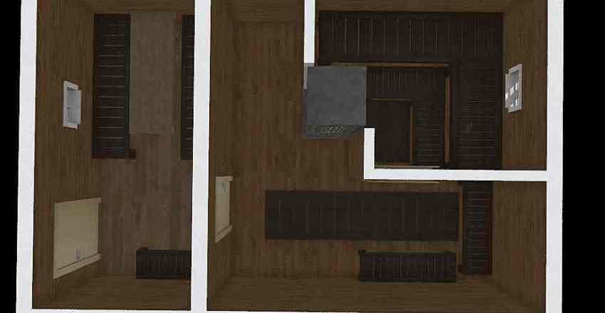 Банька Interior Design Render