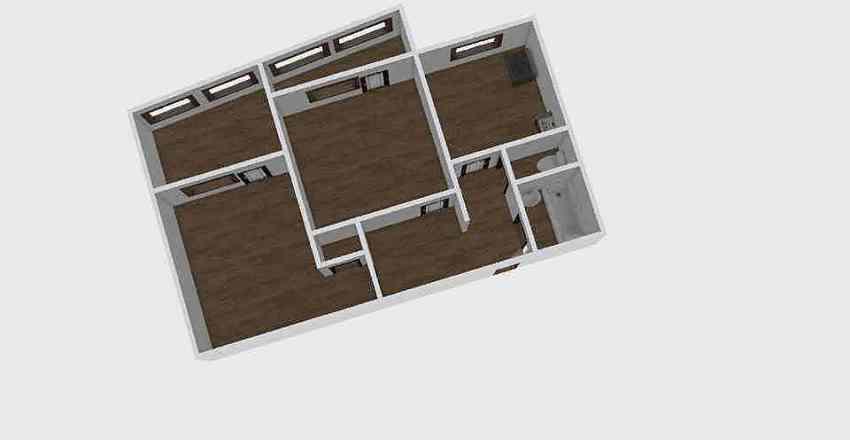 2-комн_039_19 Interior Design Render