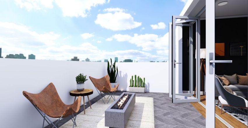 Uptown Apartment Interior Design Render