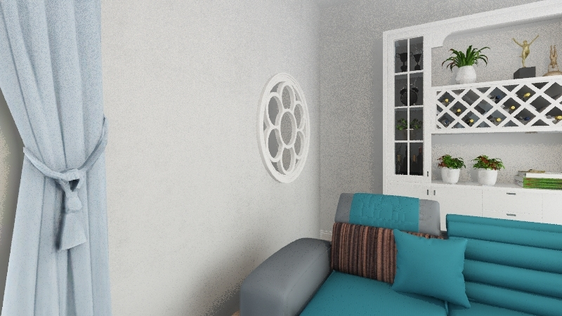 casa grillenzoni Interior Design Render