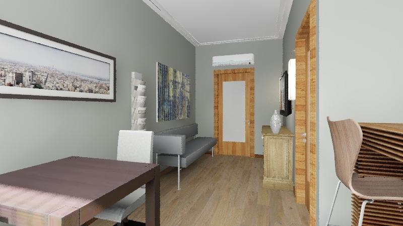 CASA 45M2 Interior Design Render