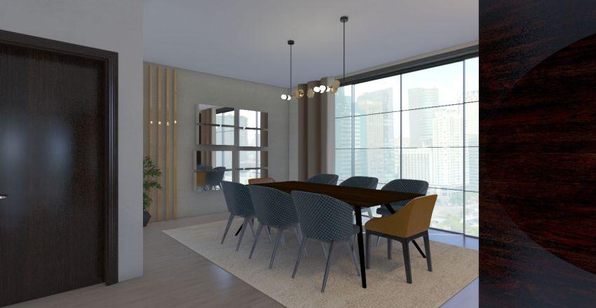 Cosy loft Interior Design Render
