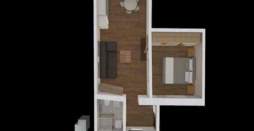 via crist colombo moncalieri - 2 Interior Design Render