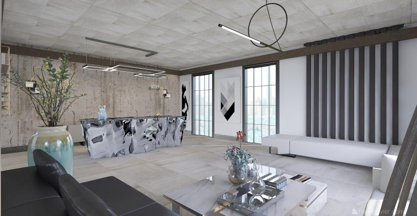 lobby Interior Design Render
