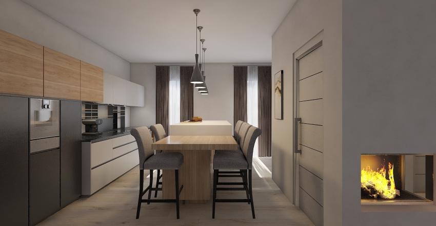 TURIN - GROUND FLOOR Interior Design Render