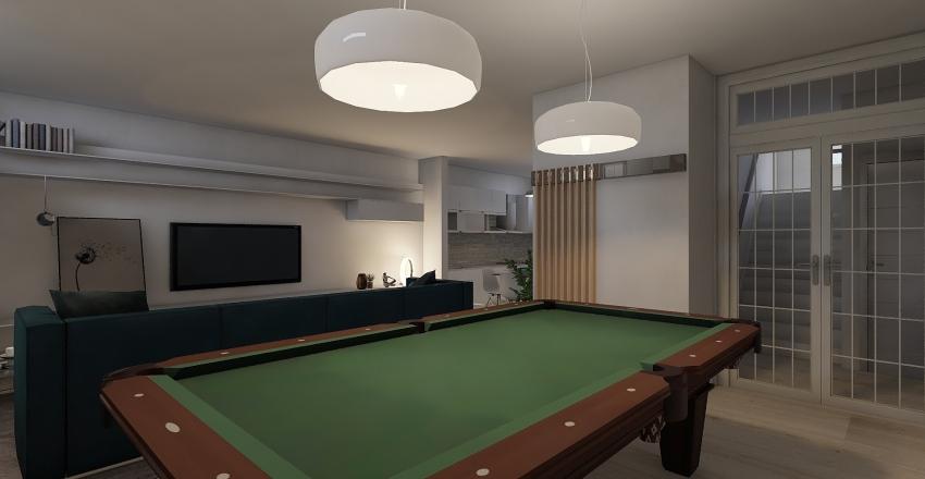 TURIN - LOWER GROUND  Interior Design Render