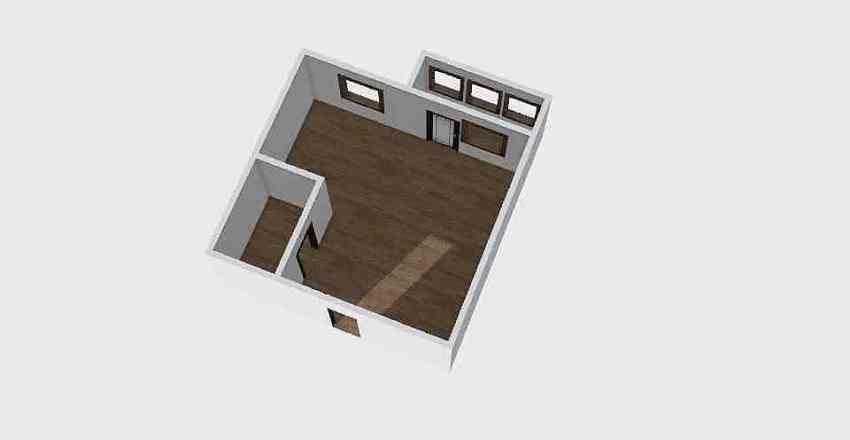 1-комн_0343 Interior Design Render