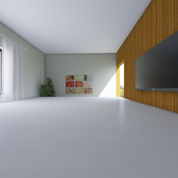 SALA TV/ESTAR Interior Design Render