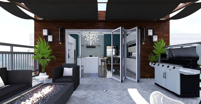 Condo Interior Design Render