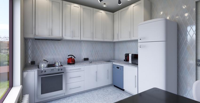 Кухня Вова Interior Design Render