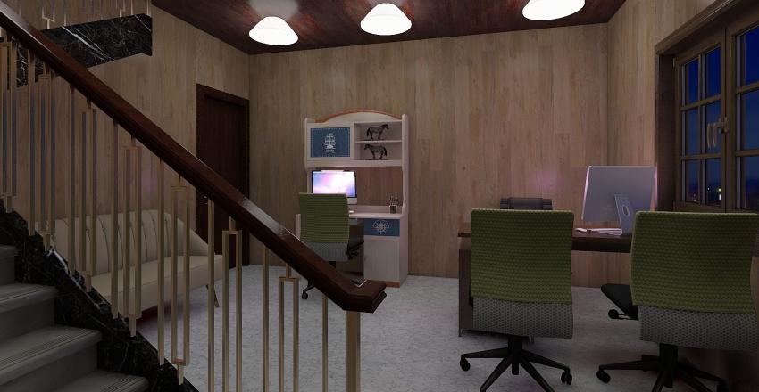 MANAS Interior Design Render