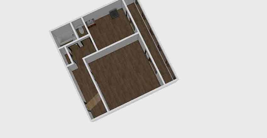1-комн_0344 Interior Design Render