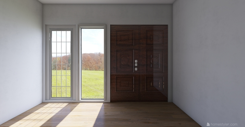 Denah Lantai 1 Interior Design Render