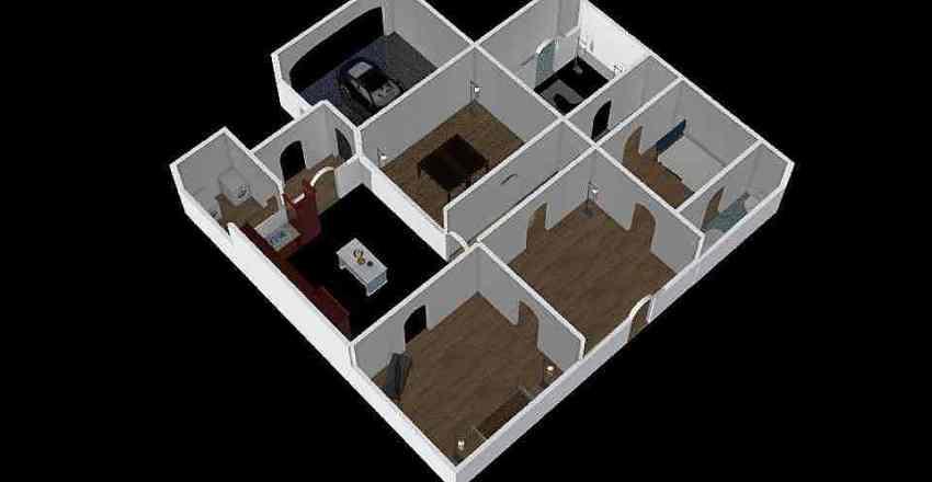 Circle Interior Design Render