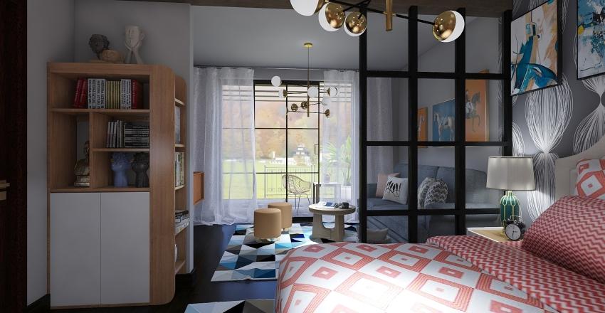 COMPLESSO DI APPARTAMENTI Interior Design Render