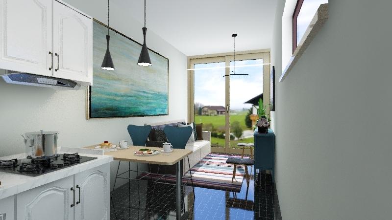 1 propuesta  Interior Design Render