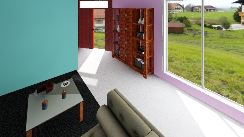 Dream Hang Out Space Interior Design Render