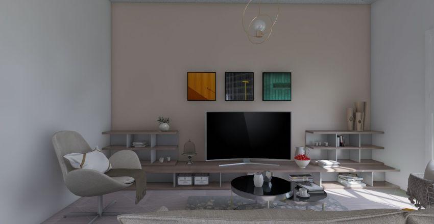 apartment for two Interior Design Render