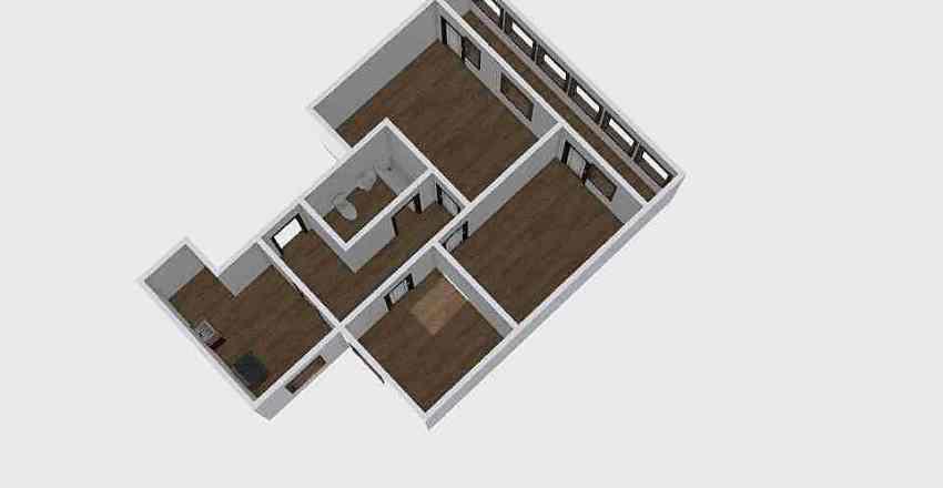 3-комн_0219 Interior Design Render