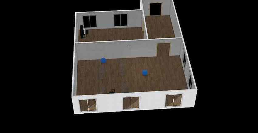 moja škola Interior Design Render